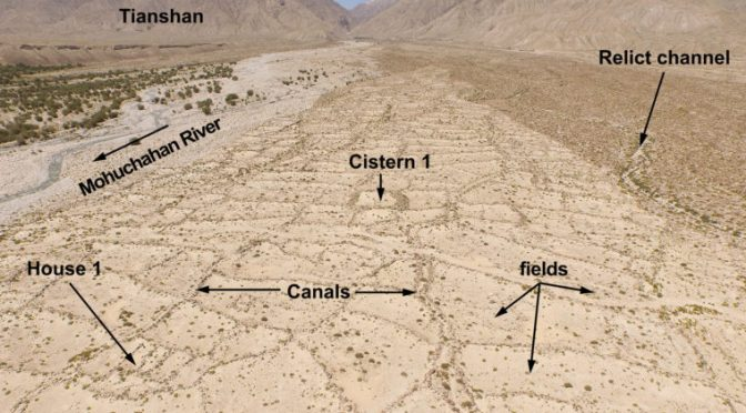 Irrigation Technique To Farm Arid Lands Passed Along The Ancient Silk Road From Lebanon To China's Desert