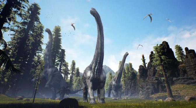 Recreating Mesozoic Environment To Learn About Vegetarian Dinosaur Nutrition Plant World News